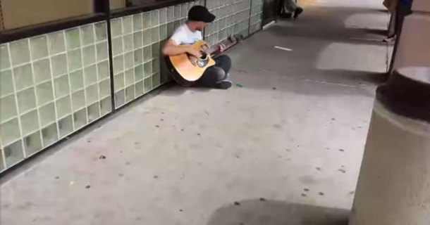 When This Street Singer Began Singing, He Never Thought This Would Happen Next.  Incredible!